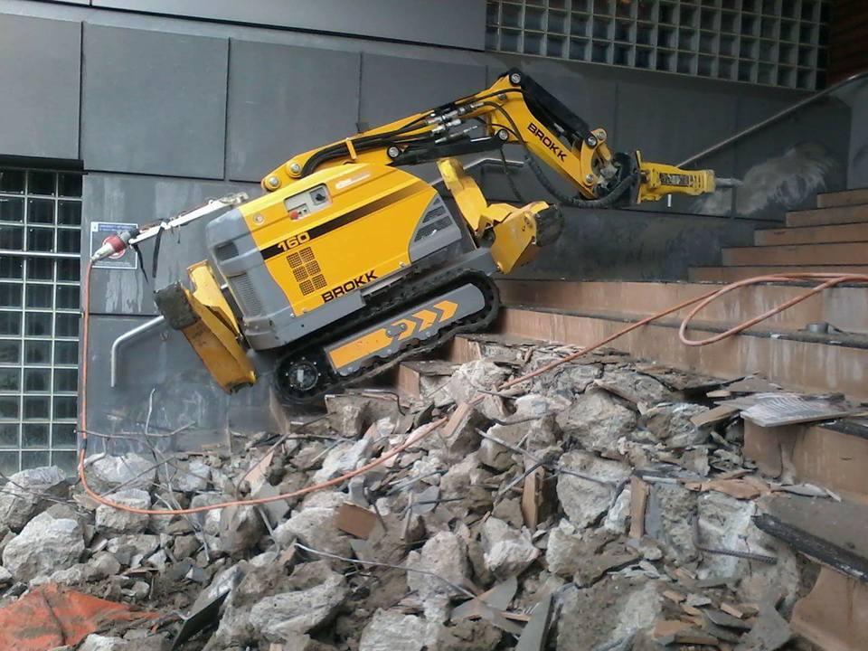 The Brokk 160 Demolition Accurate Cutting Ltd
